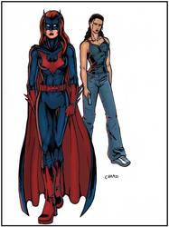 Batwoman And Renee Montoya by chamzi