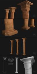 Byzantine Column by ivashko