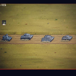 Pixel Panzers Game - Road Route Patrolling System by PixelPanzers