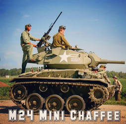 M24 Mini Chaffee  by PixelPanzers
