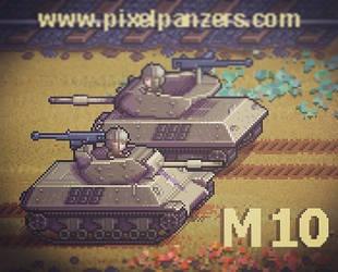 Pixel Panzers : M10 Wolverine by PixelPanzers