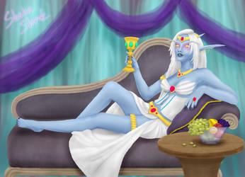Queen Azshara by ShakeShark