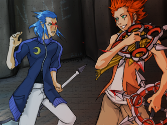 NINE - 2010 - KH:BBS by kacfrog711