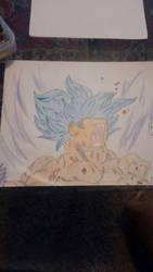 Infinity Series-Goku (Power Stone) by loserhq