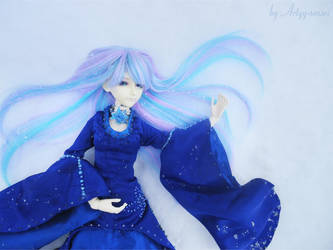 BJD - Snow Queen by Artyy-Tegra