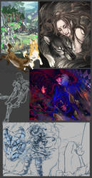 Stuff left unfinished by housunnappi