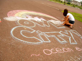 owl city chalk promo 1 by kimonoitec