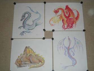 Dragon series by The-EvIl-Plankton