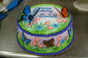 Butterfly cake by The-EvIl-Plankton