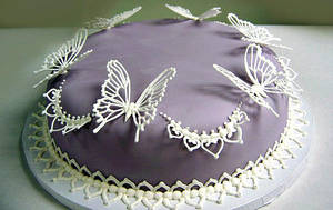 Butterfly Lace Cake by The-EvIl-Plankton