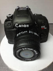 Candid Camera Cake by The-EvIl-Plankton