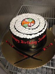 Sushi Roll Cake by The-EvIl-Plankton