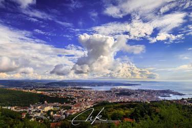 Clouds above Triest by Koljan