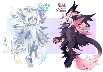 [CLOSED] Guest Pofure Auction by dracooties