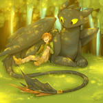 How to Train Your Dragon! by Life-Writer
