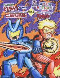 combatron meets robie by tikbaloycube