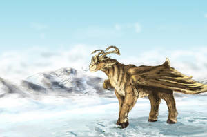 ice Dragon. by elen89
