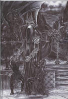 Witch King. by sauronthegreateye