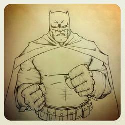 Dark Knight by Vanrogue