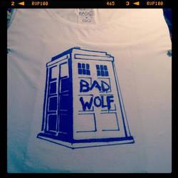 Tardis T-Shirt by Vanrogue