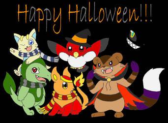 Happy Halloween 2009 by PokemonMasta