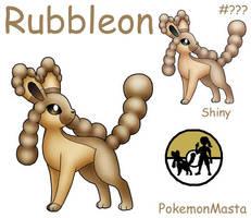 Rubbleon by PokemonMasta