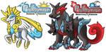 Saytoh Legendaries Pegazeus and Cerberades by PokemonMasta