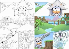 Silver Landing page 1 by AlkalineAzel