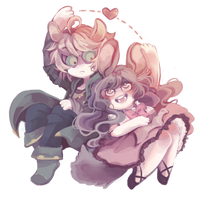 Birthday Gift Feat Peony and Hollis by whynotuber