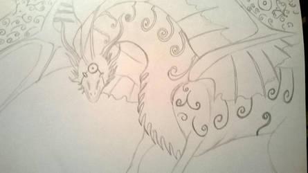 dragon by maydiaz