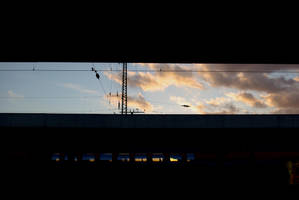 Sun Set at Hamm Hbf 2 by TheConstructor