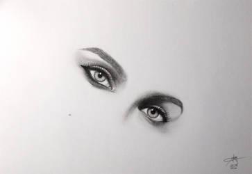 Eyes - Natalie Portman by nicofey