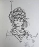 Lucca (Chrono Trigger) by castcuraga