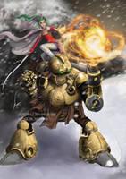 Dual Tech featuring Terra and Robo by castcuraga