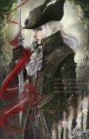 Lady Maria of the Astral Clocktower - Bloodborne by castcuraga