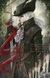 Lady Maria of the Astral Clocktower - Bloodborne by castcuraga