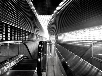 Circle Line: Stadium Station by Gwalchmei