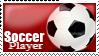Stamp: Soccer Player by RojoRamos