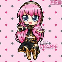 Vocaloid - Luka Megurine by Akage-no-Hime