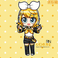 Vocaloid - Rin Kagamine by Akage-no-Hime