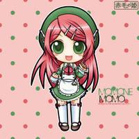 UTAUloid - Momone Momo by Akage-no-Hime