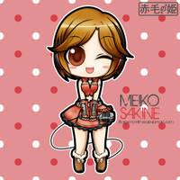 Vocaloid - Meiko Sakine by Akage-no-Hime