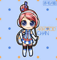 Vocaloid - Akikoroid-Chan by Akage-no-Hime