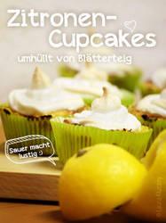 Zitronen Cupcakes umhuellt von Blaetterteig by Kluschi