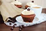 Espresso Chocolate Cupcakes by Kluschi