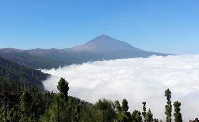 Pico Del Teide Tenerife by Kluschi
