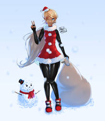 Merry Christmas 2018 by aleuriel