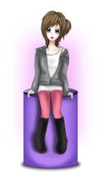ACParadise: Acy New Outfit by Siilentx22