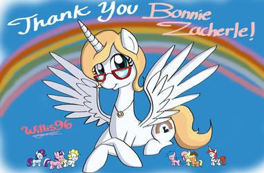 Thank You Bonnie! by WillisNinety-Six
