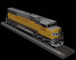 SD60M on Rails By Request by xzarno